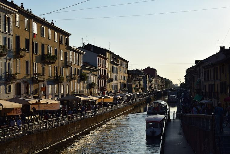 Dicas para a Noite em Milão: Navigli e Colonne di San Lorenzo