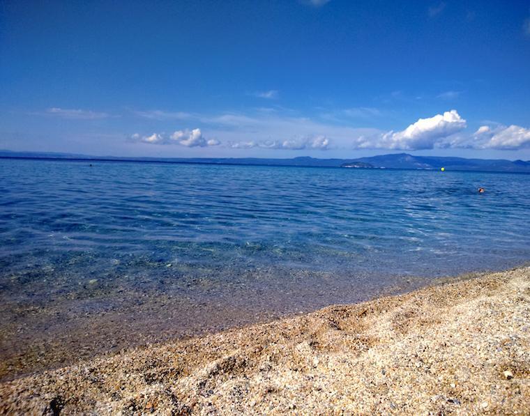 praias na grécia halkidiki