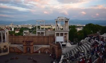 Ópera no Teatro Romano de Plovdiv, Bulgária