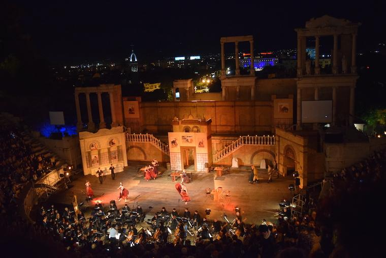 ópera plovdiv bulgária apresentação