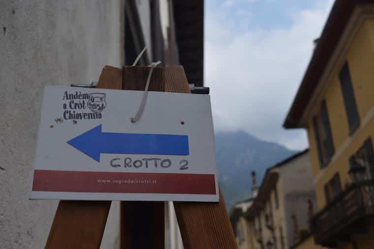 Andem a crot chiavenna