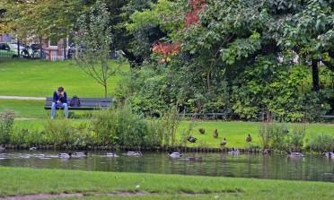Vondelpark, um passeio legal em Amsterdam