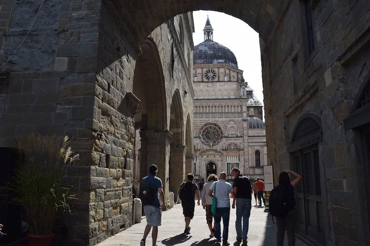 bérgamo itália capela colleoni