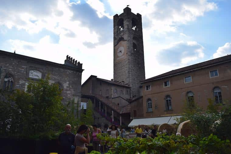 bérgamo itália piazza vecchia
