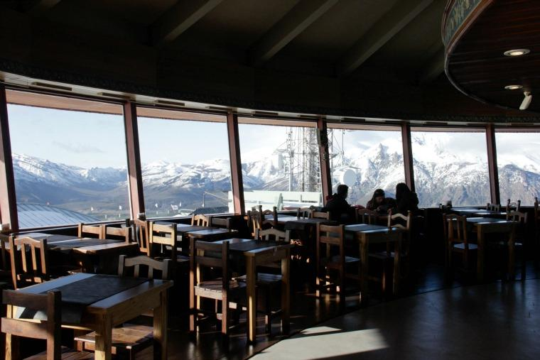 Cafeteria giratoria Cerro Otto - Bariloche