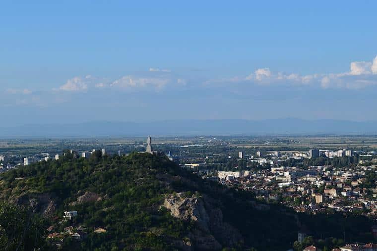 colinas de plovdiv bulgária