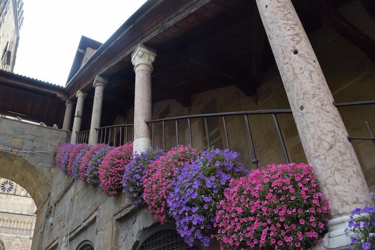 colunas romanas bérgamo itália