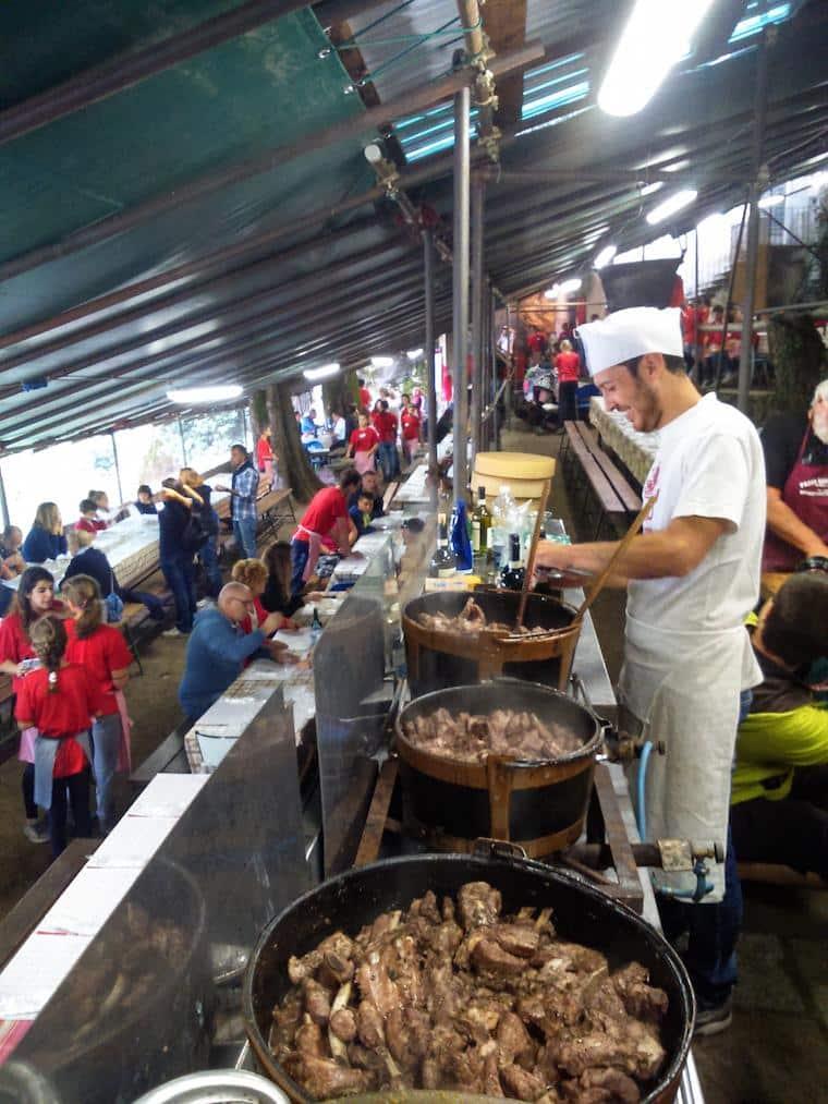 cozinha da sagra dei crotti italia