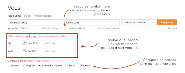 Como encontrar passagens aéreas baratas na internet