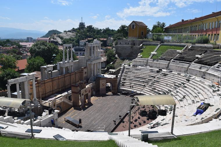 plovdiv bulgária anfiteatro romano