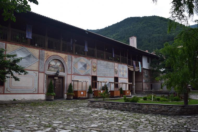 plovdiv bulgária claustro bachkovo