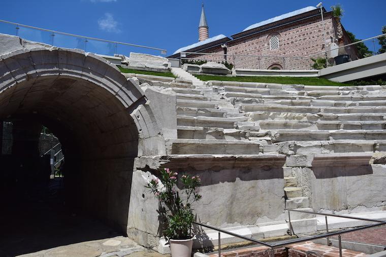 plovdiv bulgária estadio romano