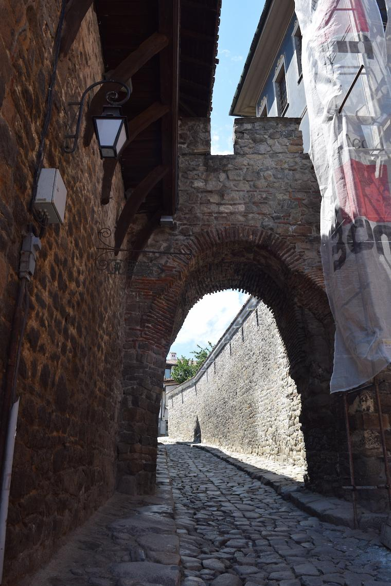 plovdiv bulgária portão muralhas