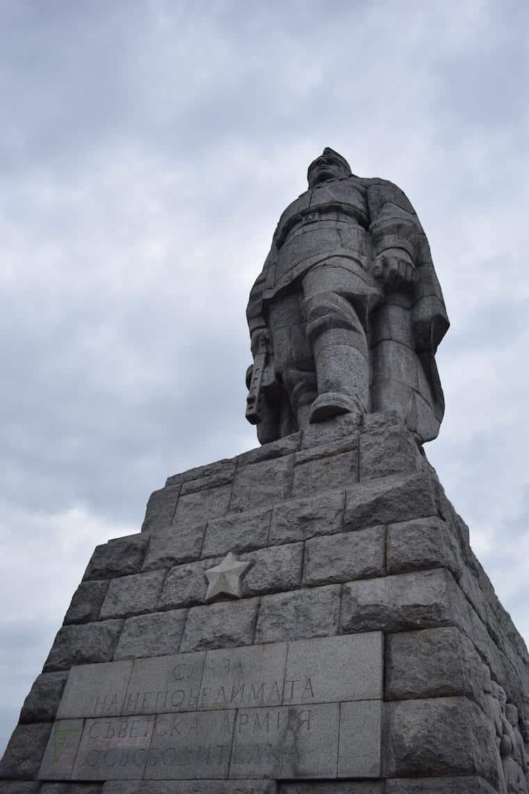 plovdiv bulgária soldado sovietico