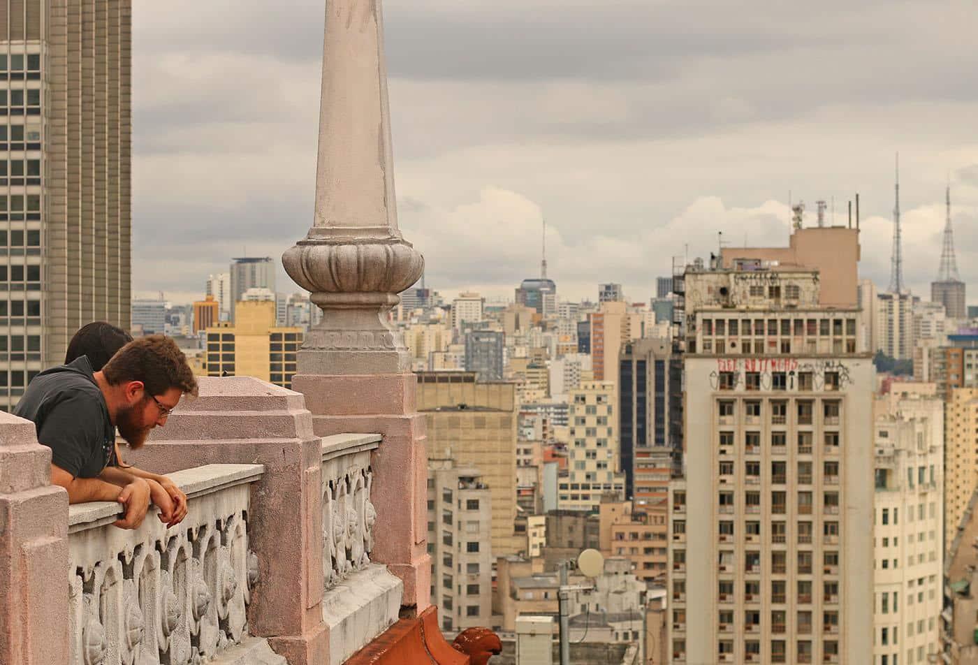 mirante em São Paulo