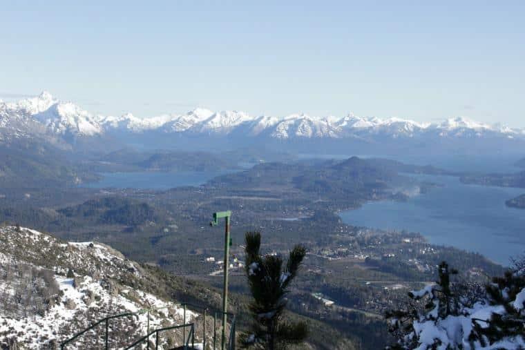Vista Cerro Otto Bariloche