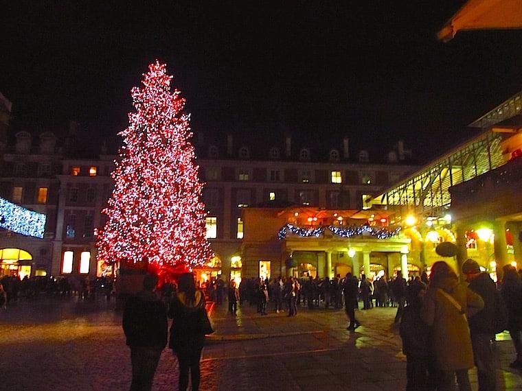 Natal em Londres árvore