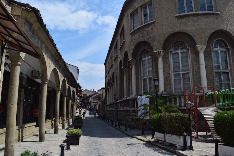 Veliko Tarnovo Bulgária rua