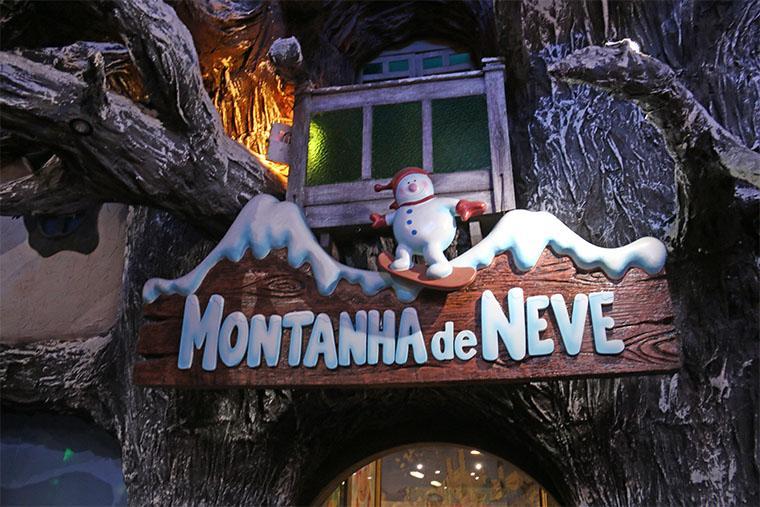 Parque de neve em Gramado