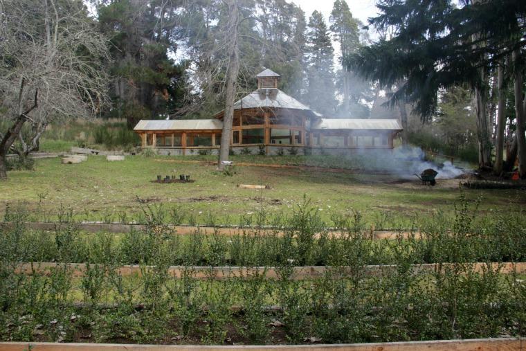 Reflorestamento Isla Victoria - Bariloche