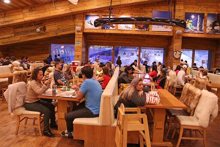 restaurante snowland