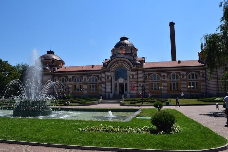 sofia bulgária banhos públicos