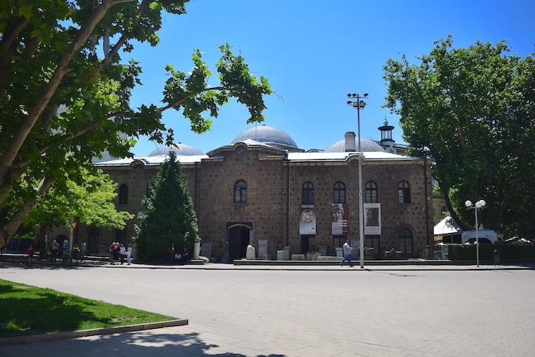 sofia bulgária museu arqueologico fora