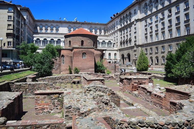 sofia bulgária rotunda