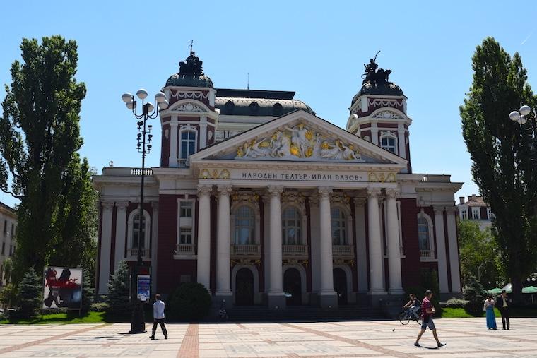 sofia bulgária teatro nacional