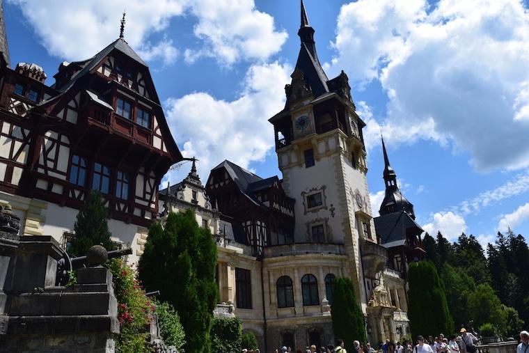 turismo romênia peles castle sinaia