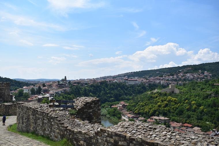 veliko tarnovo bulgária fortaleza