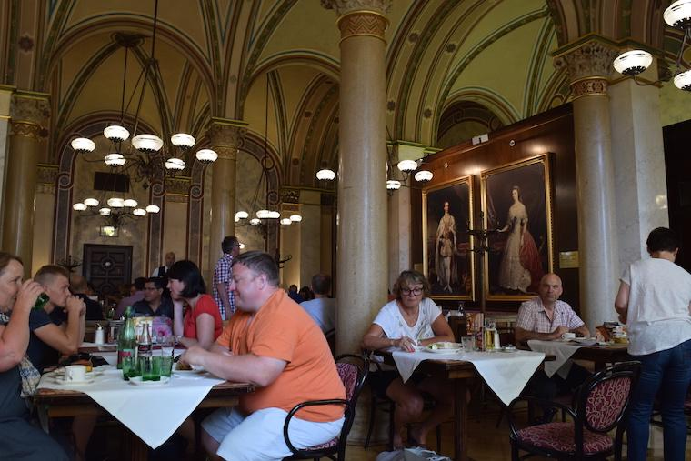 Cafe central viena austria