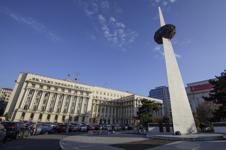 rpaça da revolução bucareste romenia