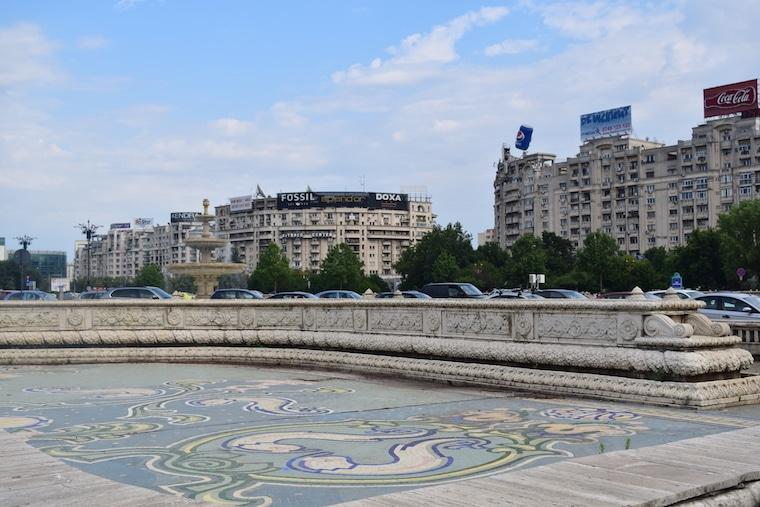 turismo romênia bucareste bouevard unirii