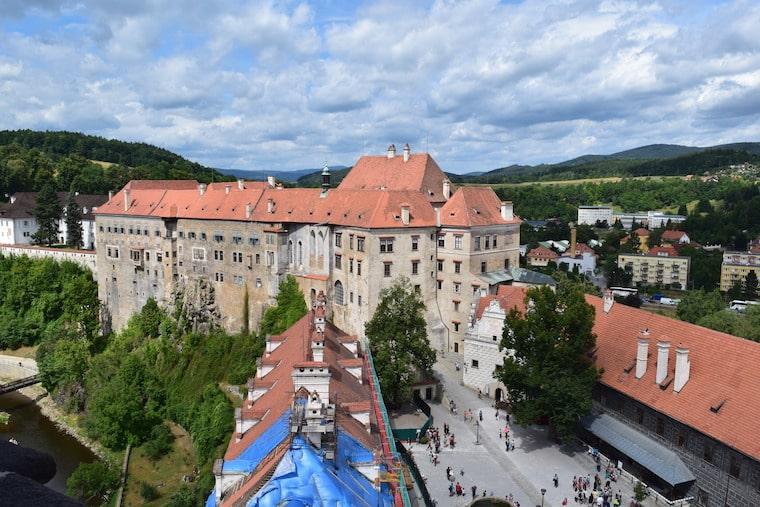 Cesky Krumlov República Tcheca castelo