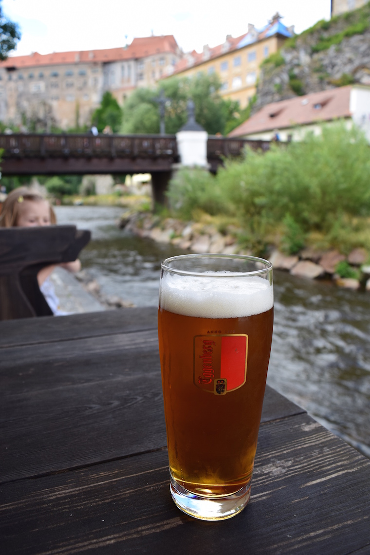 Cesky Krumlov República Tcheca cerveja eggenberg