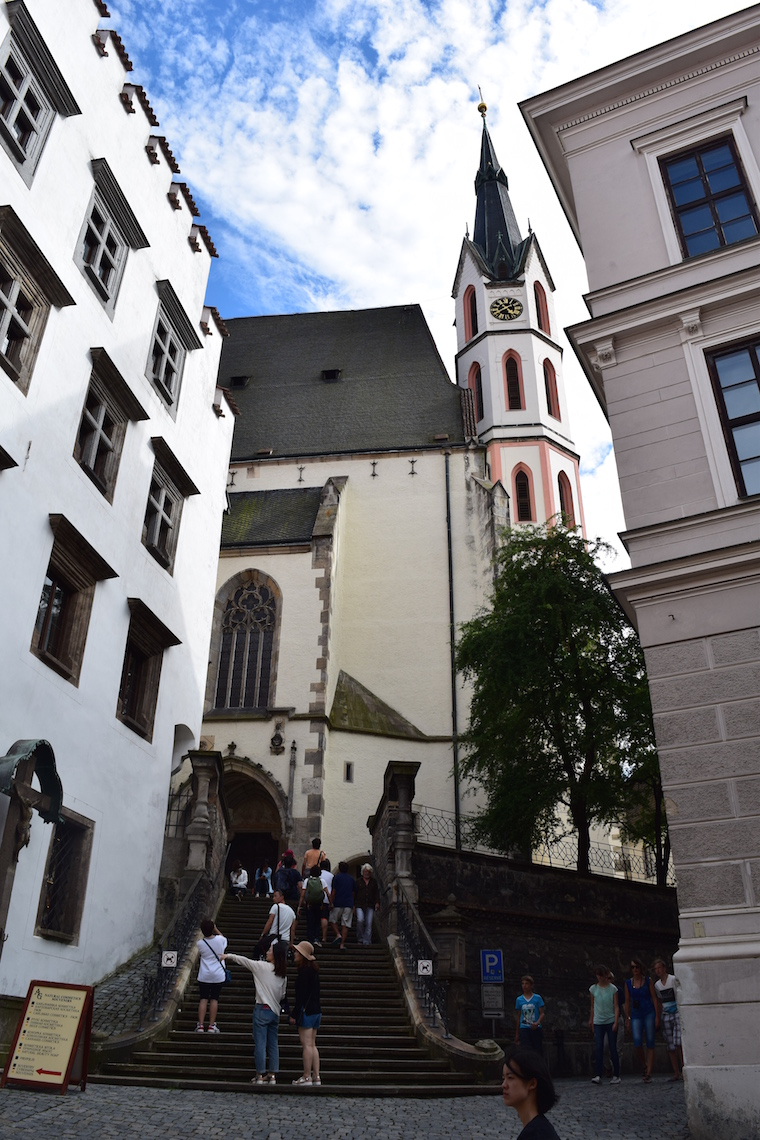Cesky Krumlov República Tcheca igreja st vitus