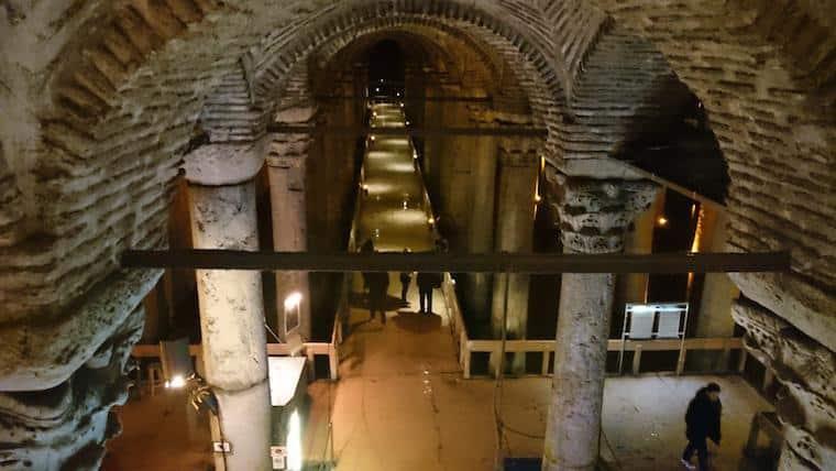 Cisterna da Basílica, Istambul