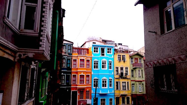Casas revitalizadas - Golden Horn - Istambul