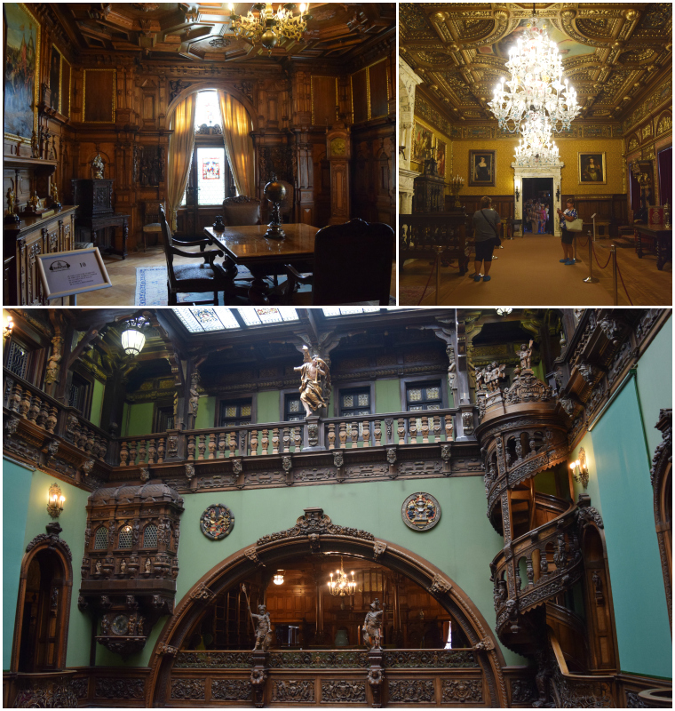 castelo de peles sinaia romênia saloes