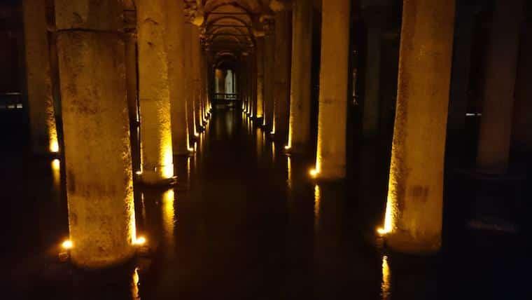 Cisterna da Basílica - Istambul