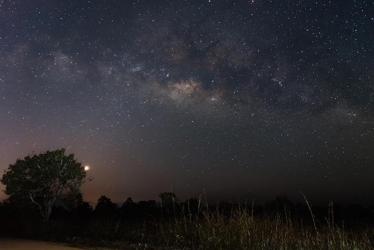 Espaço, estrelas