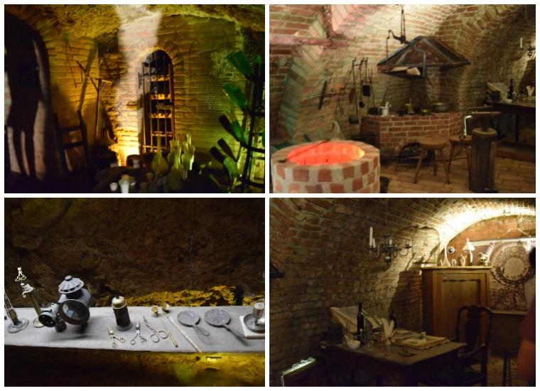 labirinto subterrâneo em brno república tcheca caves