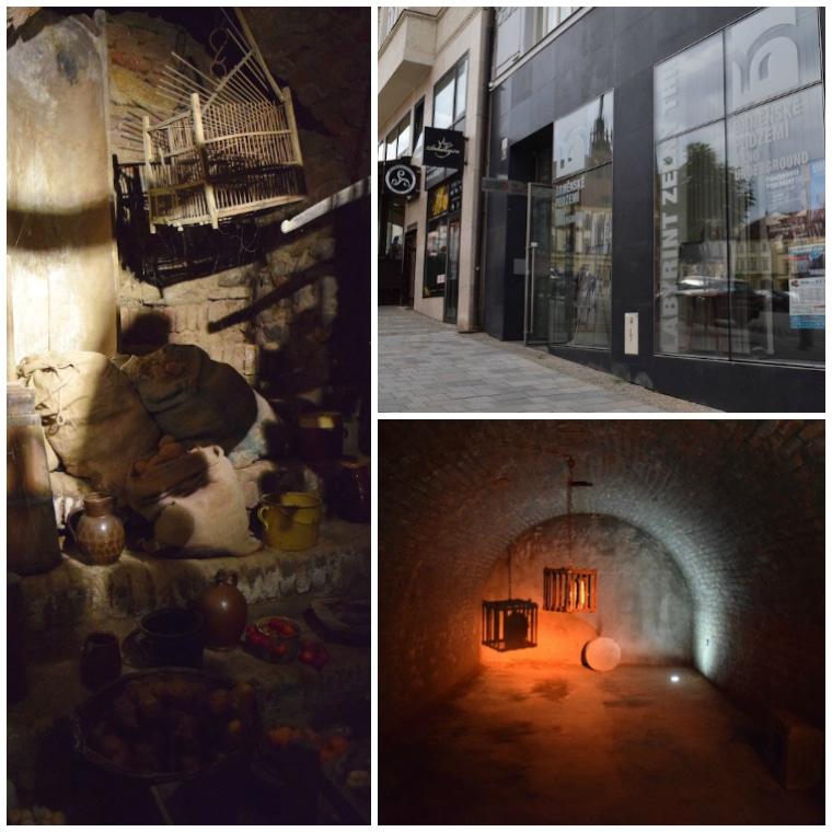 labirinto subterrâneo em brno república tcheca