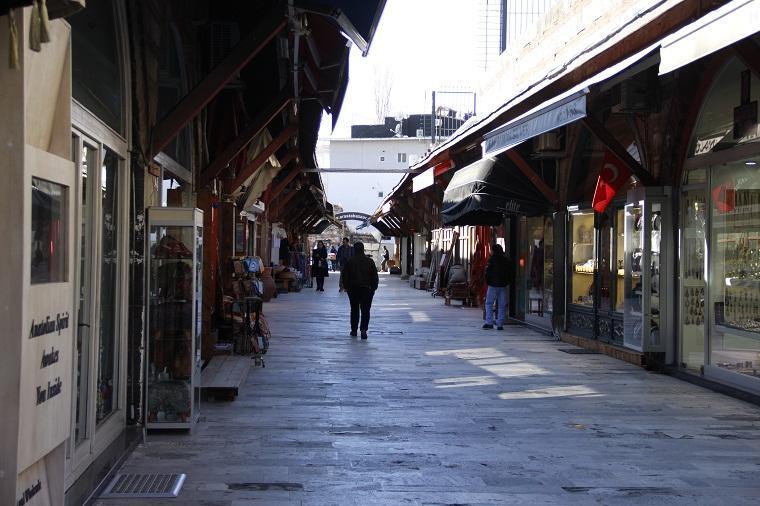 Mercado da mesquita azul - Istambul