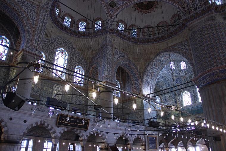 Azulejos da mesquita azul - Istambul