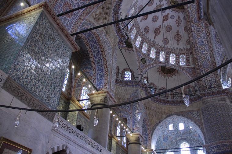 Mesquita Azul de Istambul - Teto