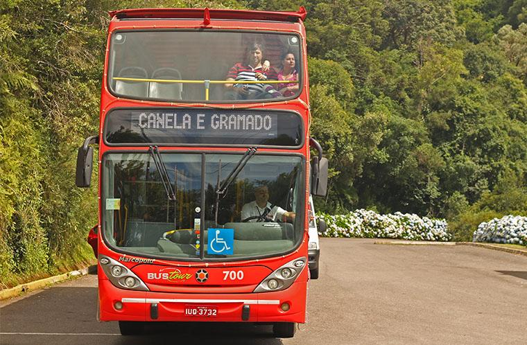 Ônibus Turístico Gramado Canela