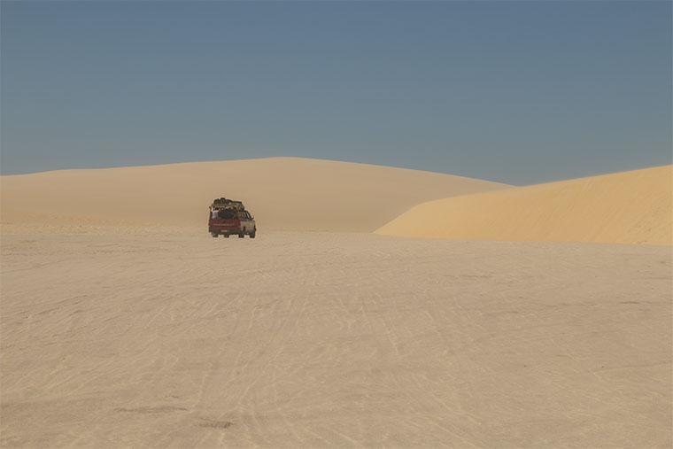 dunas em Jericoacoara Ceara