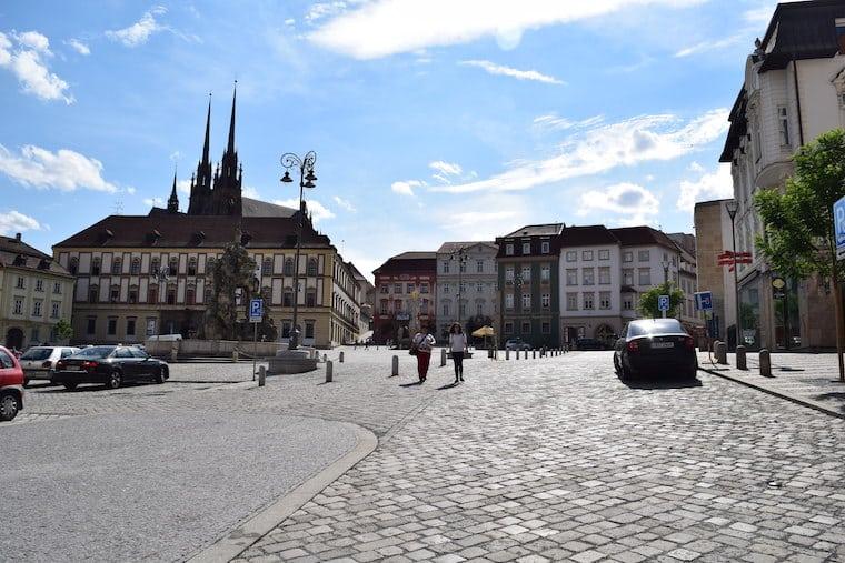 república tcheca turismo brno praça